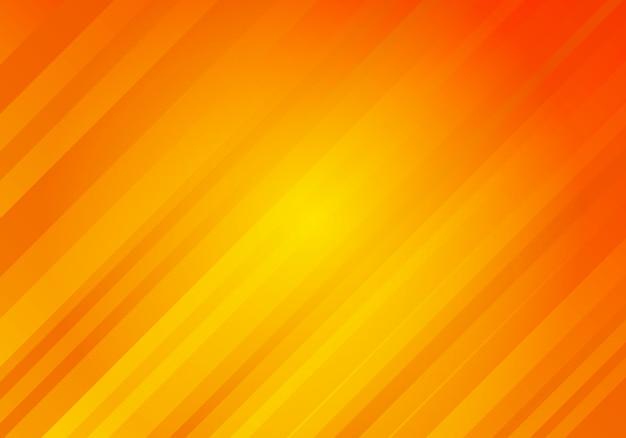 Fondo naranja abstracto con rayas diagonales