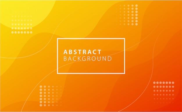 Fondo naranja abstracto