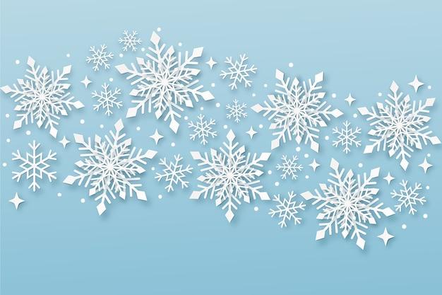 Fondo de navidad en papel