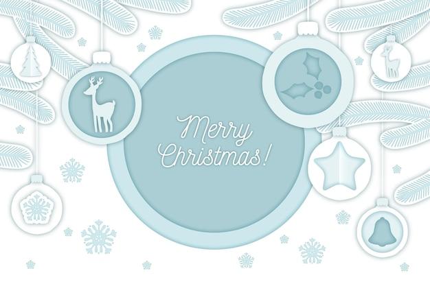 Fondo de navidad con renos