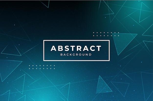 Fondo de negocio abstracto moderno con triángulos