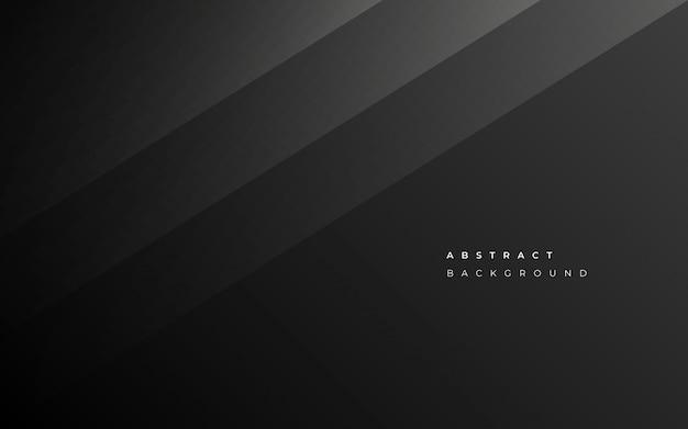 Fondo de negocio negro abstracto minimalista