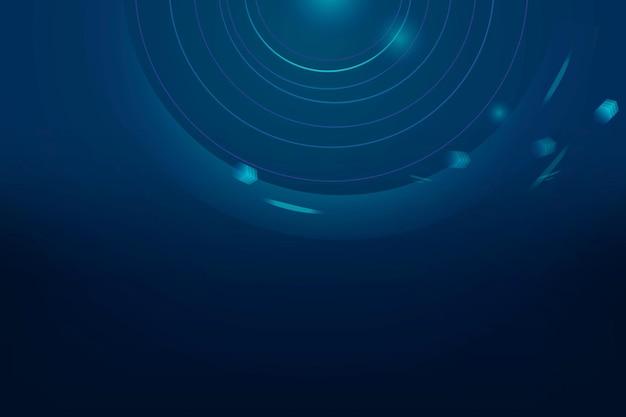 Fondo de negocio de vector de transformación digital degradado