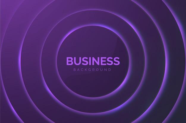 Fondo de negocios abstractos con círculos púrpuras