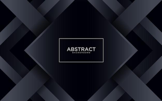 Fondo negro abstracto con forma geométrica