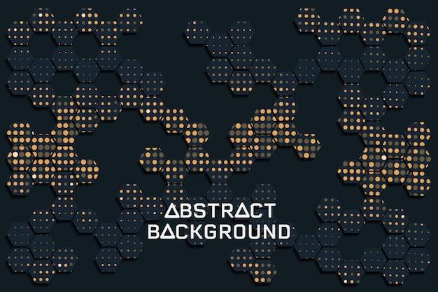 Fondo negro abstracto de la textura
