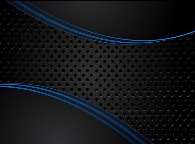 Fondo Azul Metálico Abstracto De Diseño Moderno De La: Ajedrez (peón) Para El Fondo O La Textura Del Líder
