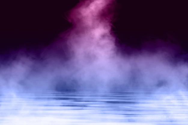 Fondo de niebla dinámica realista