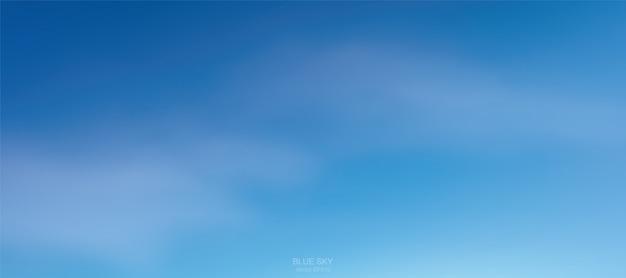 Fondo de nubes blancas suaves contra el cielo azul.