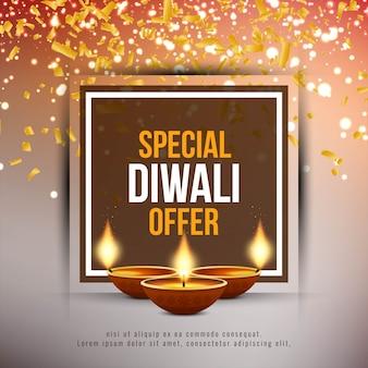 Fondo de oferta festival abstracto feliz diwali