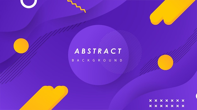 Fondo de onda abstracta con formas coloridas