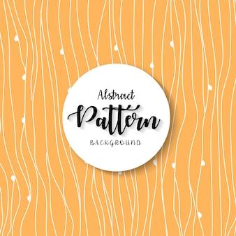 Fondo de onda abstracta vector patrón
