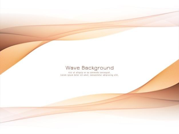 Fondo de onda colorido decorativo moderno