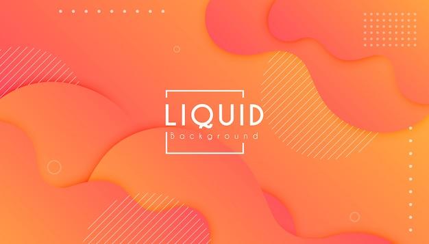 Fondo de onda de forma colorida degradado abstracto