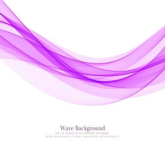 Fondo de onda rosa elegante