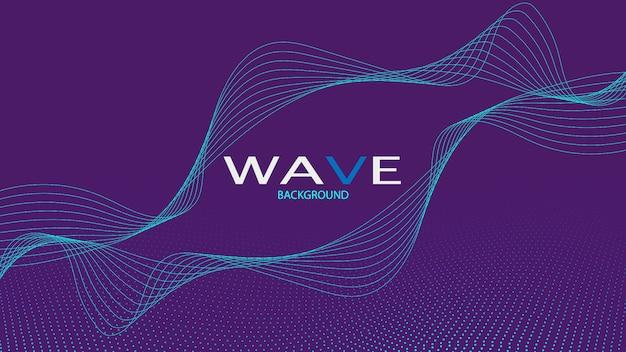 Fondo de la onda de sonido