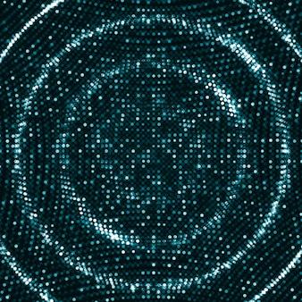 Fondo de ondas digitales
