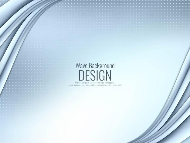 Fondo ondulado con estilo abstracto