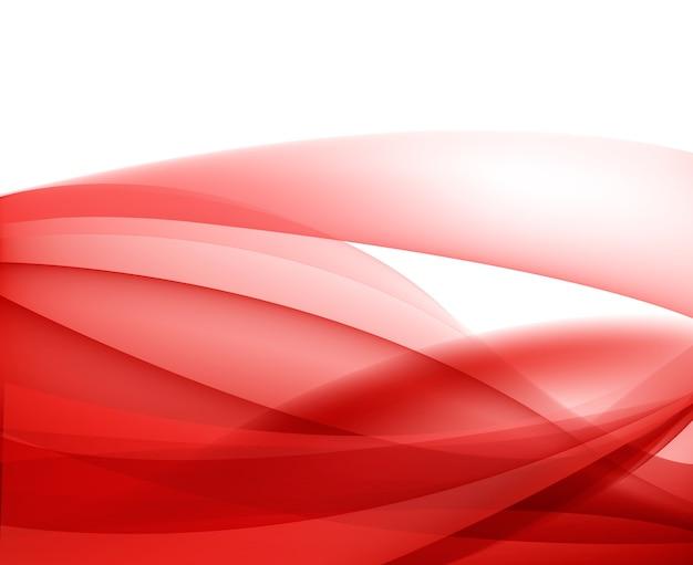 Fondo ondulado de seda rojo abstracto, papel tapiz