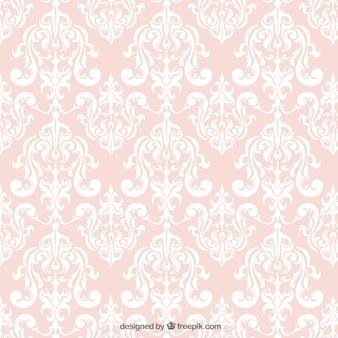 Fondo ornamental de color rosa
