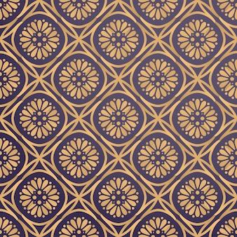 Fondo ornamental de lujo en color dorado