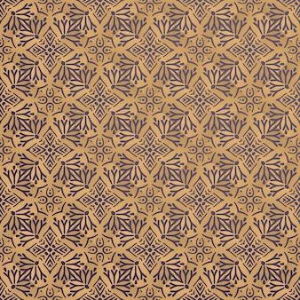 Fondo ornamental de lujo en color dorado.