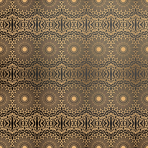Fondo ornamental de lujo en color dorado.