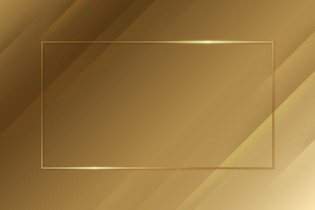 Fondo de oro de lujo