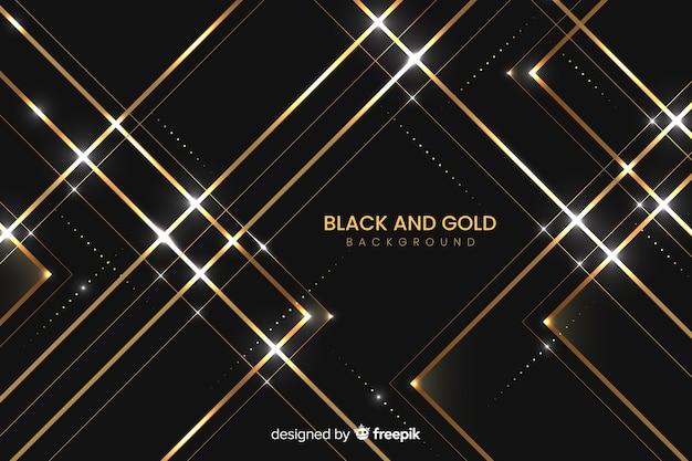 Fondo oscuro y dorado