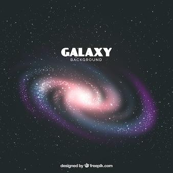 Fondo oscuro de galaxia