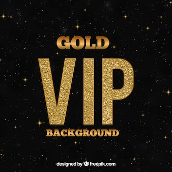Fondo oscuro vip con detalles dorados