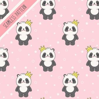 Fondo de oso panda bebé premium