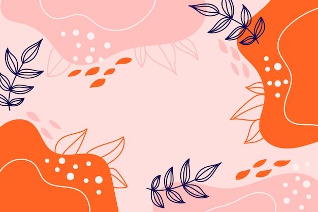Fondo de otoño abstracto moderno