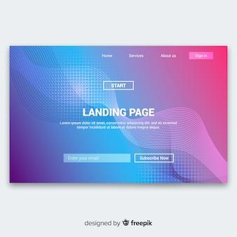 Fondo de página de inicio