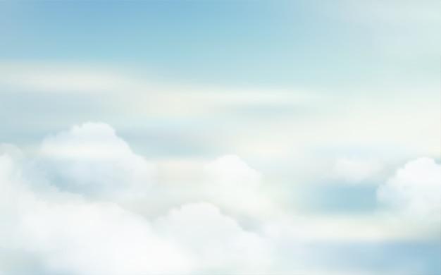 Fondo de paisaje de naturaleza del cielo