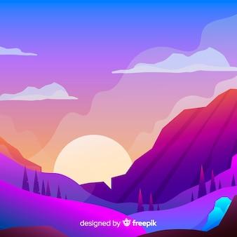 Fondo de paisaje