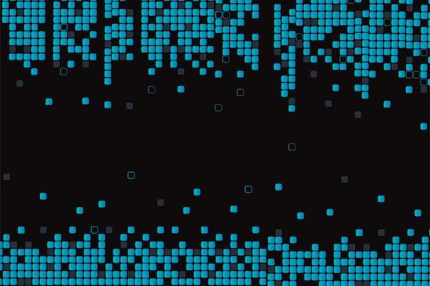 Fondo de pantalla abstracto lluvia de píxeles