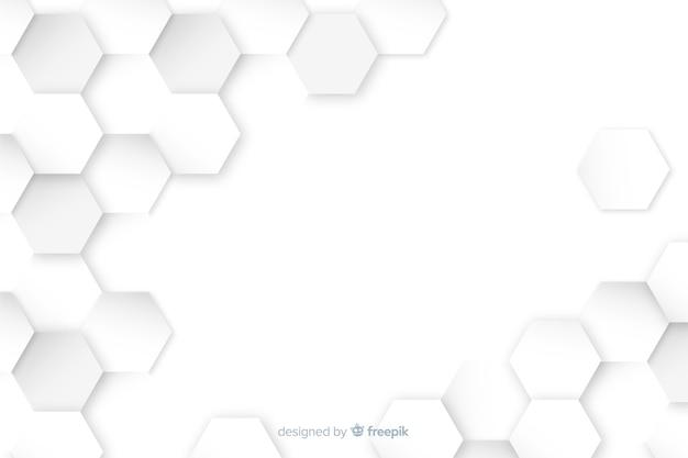Fondo de pantalla con concepto de formas geométricas