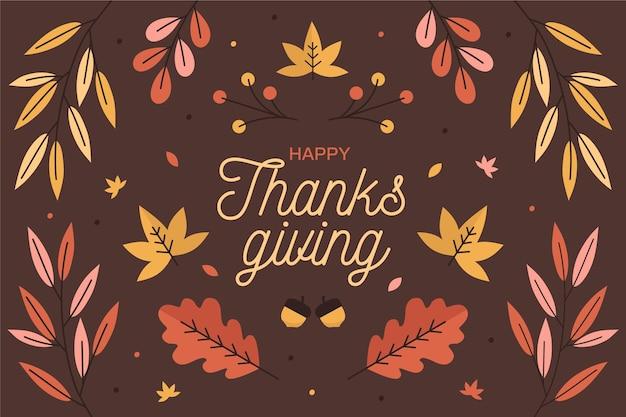 Fondo de pantalla del día de acción de gracias