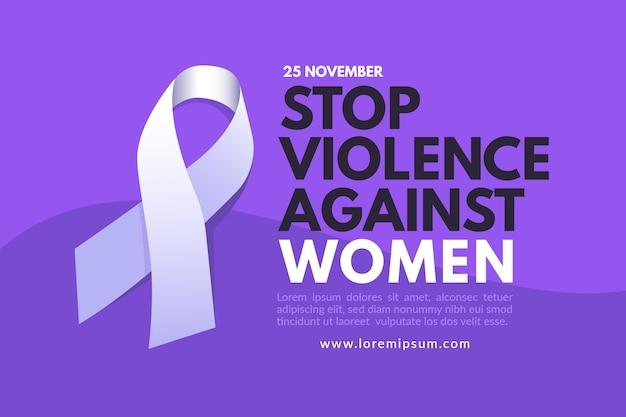 Fondo de pantalla del día internacional para la eliminación de la violencia contra la mujer