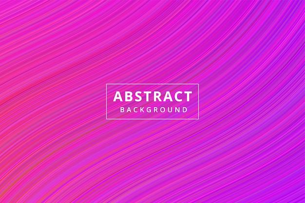Fondo de pantalla de fondo abstracto de onda de rayas vector premium