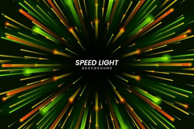 Fondo de pantalla de luces de velocidad