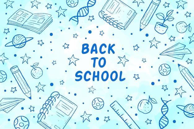 Fondo de pantalla de regreso a la escuela