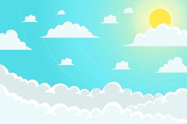 Fondo de pantalla de sky para videoconferencias