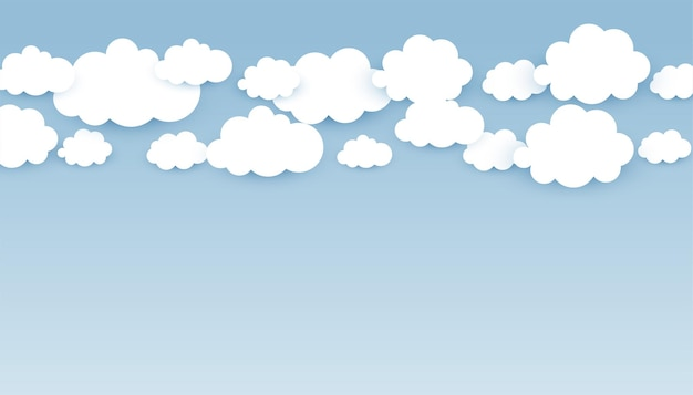 Fondo de pantalla de skye con nubes esponjosas