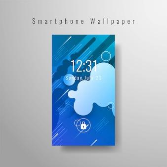 Fondo de pantalla de teléfono inteligente moderno
