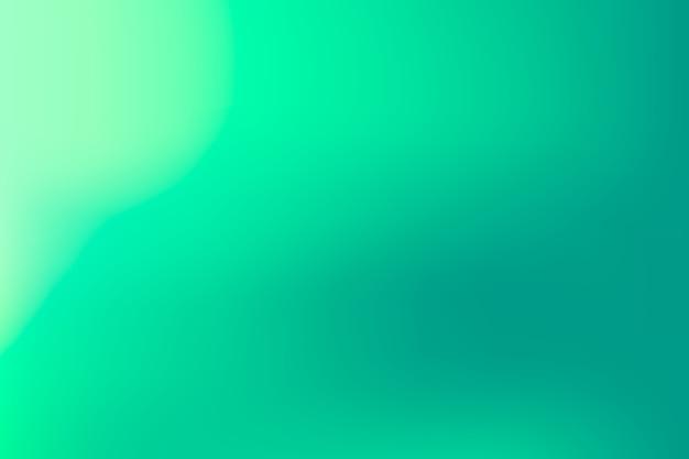 Fondo de pantalla en tonos degradados verdes