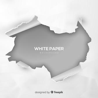 Fondo de papel blanco