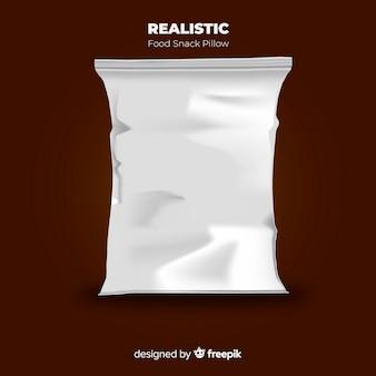 Fondo paquete snacks
