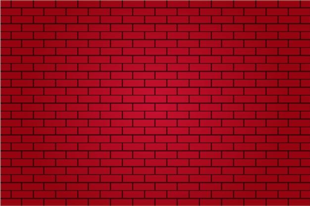 Fondo de pared de azulejo de ladrillo rojo